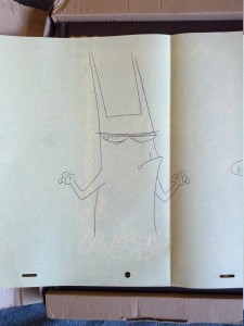Catscratch animation production art